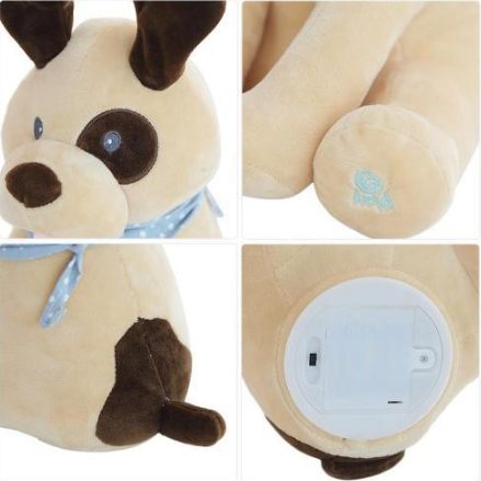 Image of Peek-a-Boo Puppy Toy – Singing Dog