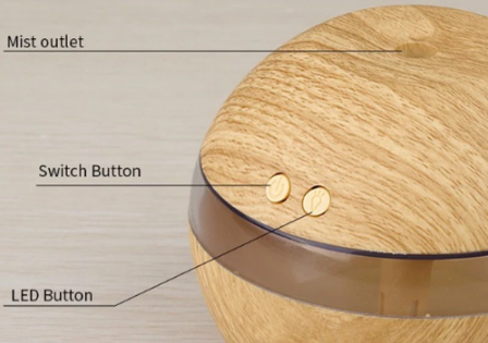 Image of Essential Oil Diffuser Humidifier