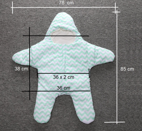 Image of The Cutest Little Star Baby Sleeping Bag