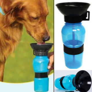 Image of No More Mess Portable Dog Water Bottle