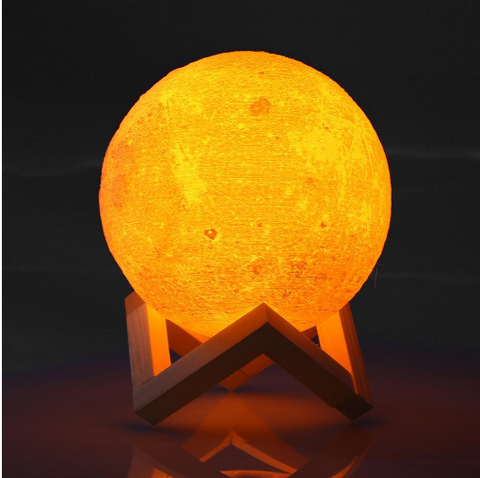 Image of 3D Magical Mini Moon Lamp