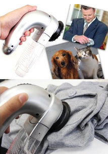 Image of Portable Pet Hair Vacuum