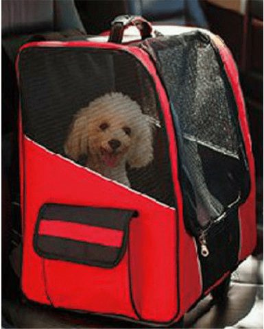 Multi-use Dog Backpack Stroller 2 in 1