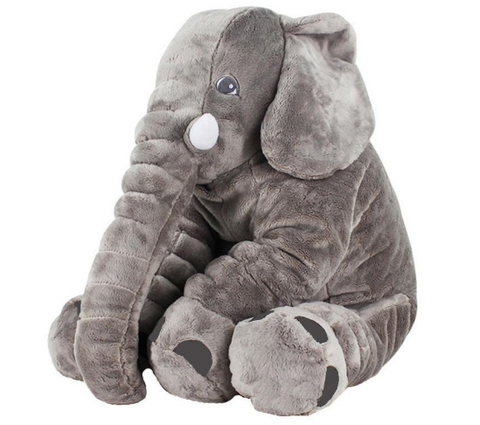 Image of Elephant Plush Pillow – Elephant Plush Toy