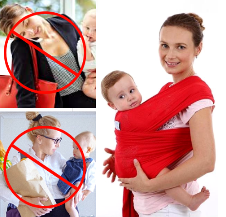 Image of The Best Baby Wrap Carrier – Baby Carrier Sling