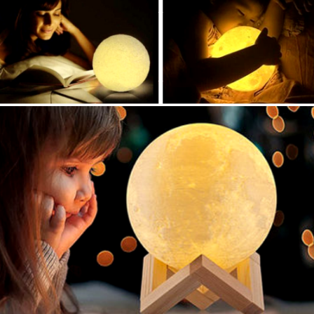 3D Magical Mini Moon Lamp