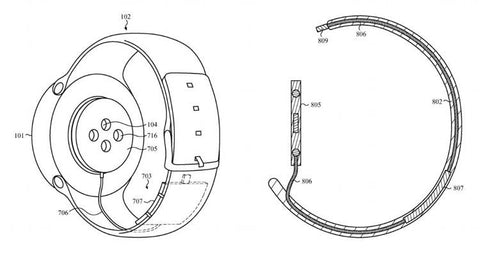 Apple Watch 3 patent diagram