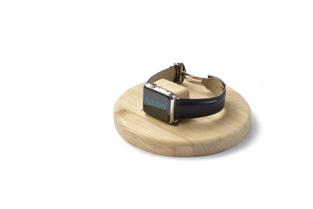 Apple Watch band Apple Watch straps Apple Watch ' Signature ' Stand / Dock - Oak - Mintapple