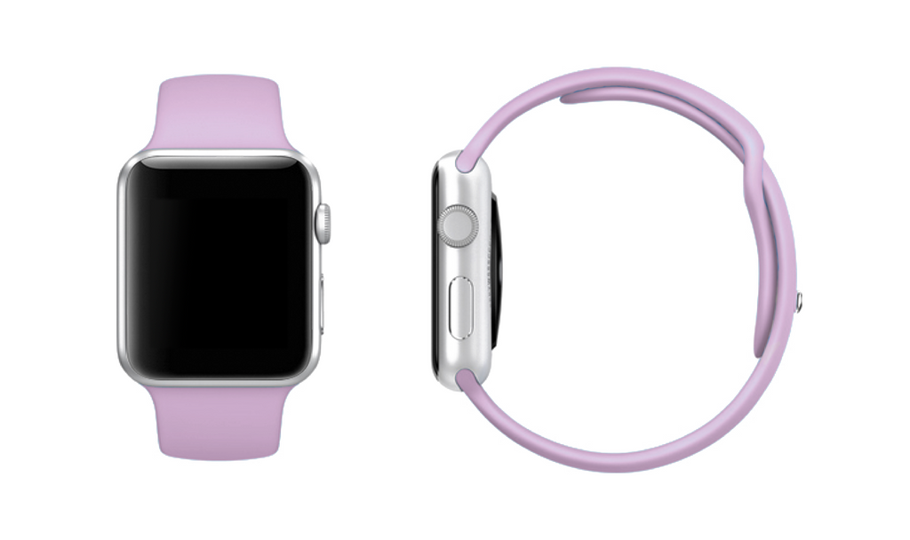 Apple Watch band Apple Watch straps Mix & Match Sport Apple Watch Band - LIMITED EDITION SOFT PINK - Mintapple