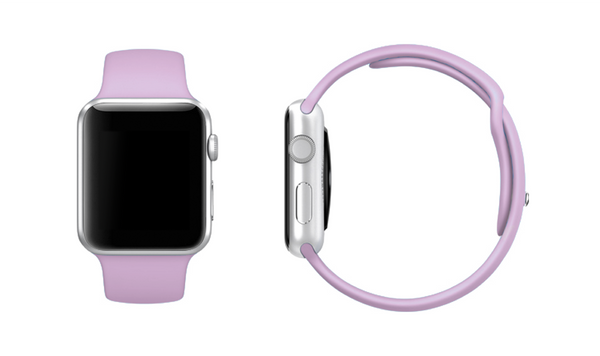 Mix & Match Sport Apple Watch Band - LIMITED EDITION SOFT PINK