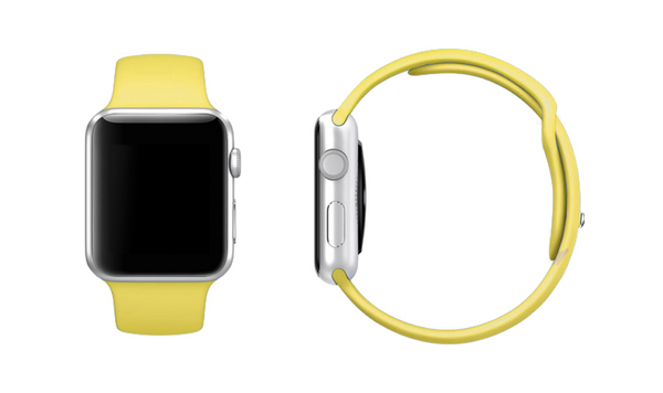 Mix & Match Sport Apple Watch Band - LIMITED EDITION PALE YELLOW