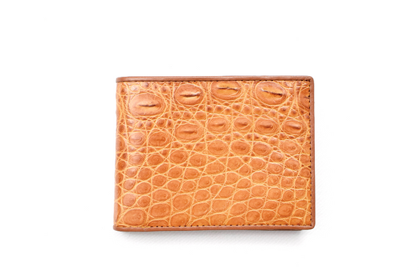 Genuine Exotic Crocodile skin wallet #0016