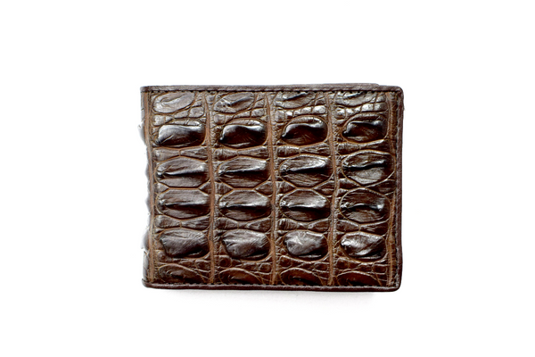 Genuine Exotic Crocodile skin wallet #0028
