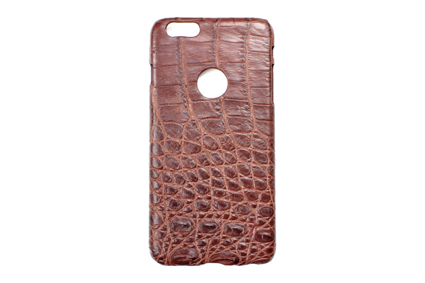 Genuine Exotic Crocodile iPhone 6Plus case #0005
