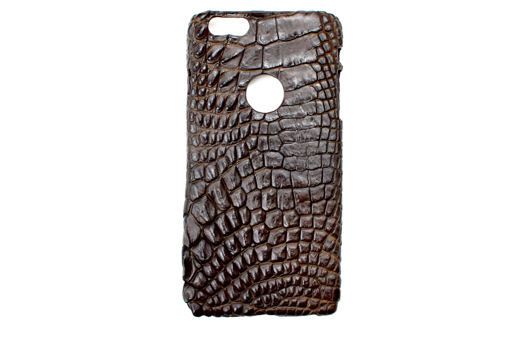 Apple Watch band Apple Watch straps Genuine Exotic Crocodile iPhone 6Plus case #0012 - Mintapple