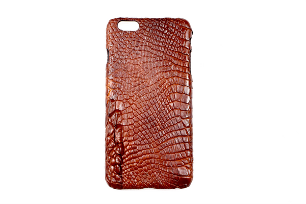 Genuine Exotic Crocodile iPhone 6Plus case #0003