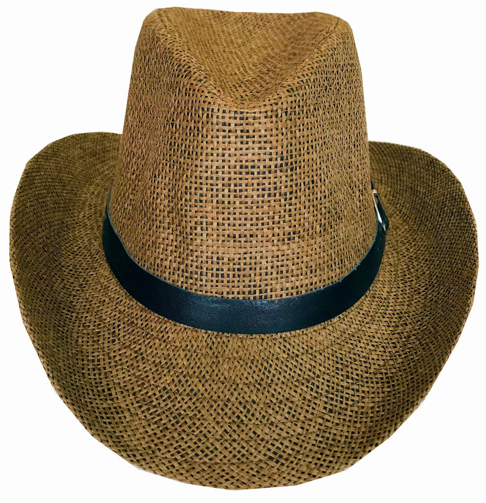 SYNC WITH STYLE Men Women Unisex Western Straw Cowboy Hat Beach Cap Wi –  Sync With Style a93928e11ae