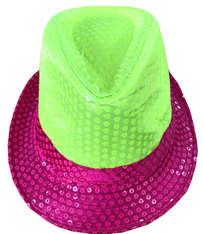 Sequin Fedora Hats