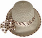SYNC WITH STYLE Womens Ladies Floppy Foldable Summer Wedding Church Race Derby Sun Beach Straw Cap UPF 50 Foldable Wide Brim Formal Casual Adjustable Floral Hat White & Beige