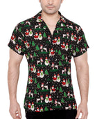 CLUB CUBANA Men's Regular Fit Classic Long Sleeve Casual Christmas Xmas Shirt - Sync With Style - Casual Shirts - Club Cubana  - 1