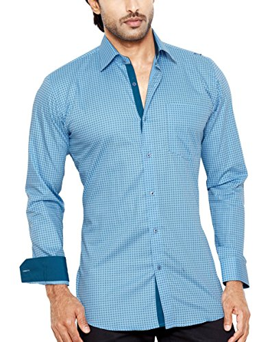 STEFFEN DEHM Men's Regular Fit Classic Long Sleeve Casual Shirt