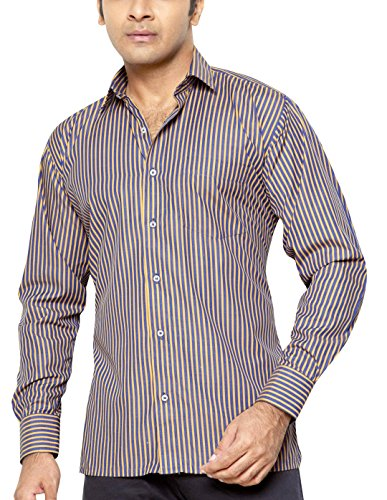 Raphaël Abel Men's Regular Fit Classic Long Sleeve Casual Shirt