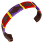 CARLOS DIAZ Designer Genuine Leather Waxed Embroidered Gaucho Polo Horse Bridle Browband