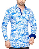 Heath Lane Blue Mens Regular Fit Casual Shirt - Sync With Style - Casual Shirts - Steffen Dehm  - 1