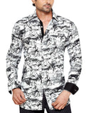 Mayflower Street White Mens Regular Fit Casual Shirt - Sync With Style - Casual Shirts - Steffen Dehm  - 1
