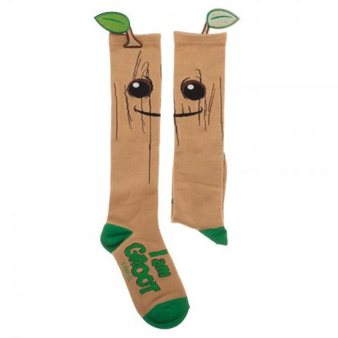 Guardians Of The Galaxy Groot Knee High Socks