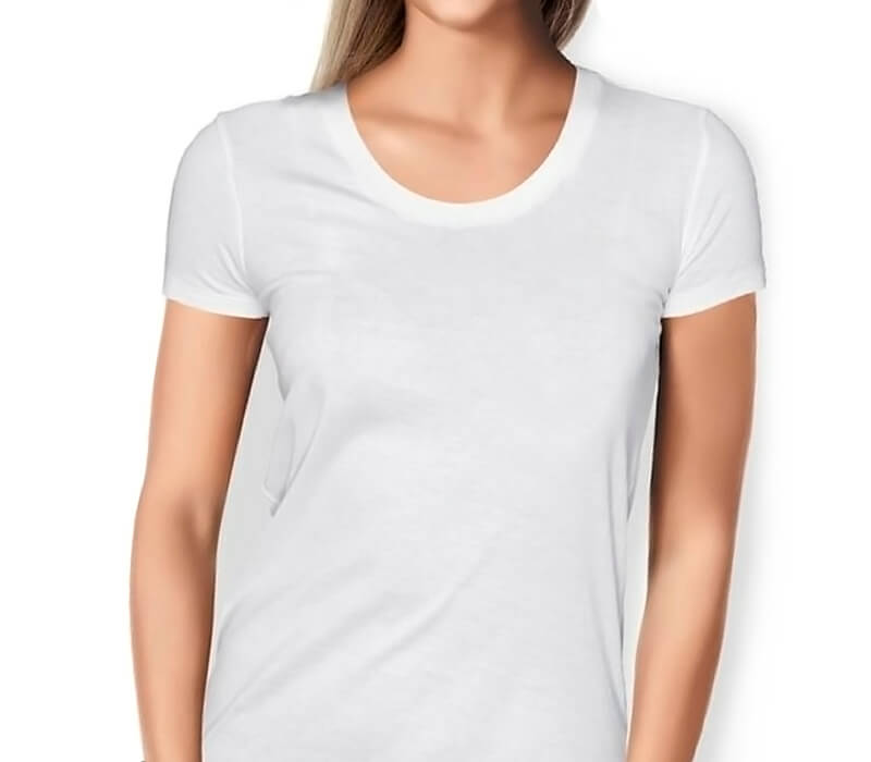 Custom Woman's tshirt (white)
