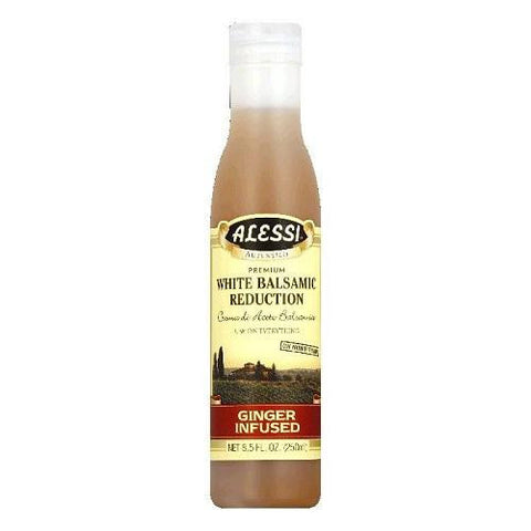 Alessi Ginger Infused Balsamic Vinegar Reductions  (6x8.5 Oz)