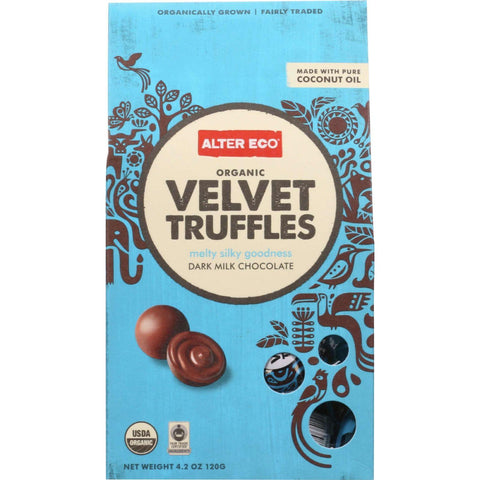 Alter Eco Americas Truffle  Organic  Velvet  10 Pack  4.2 Oz  Case Of 8
