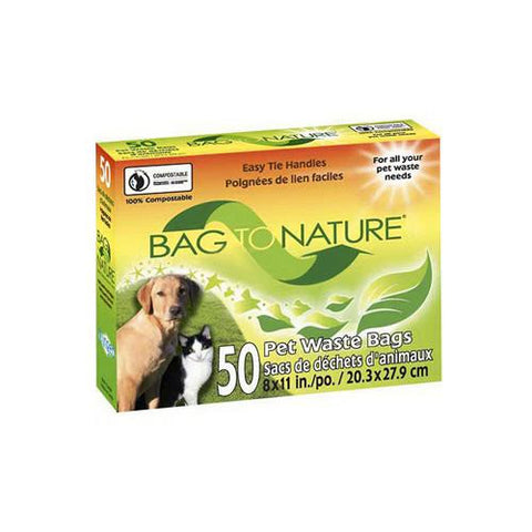 Bag To Nature Biodegradable Pet Bags (1x50 Count)