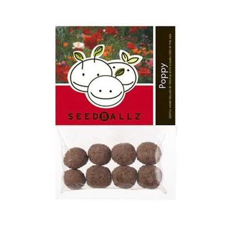 Seedballz Poppy (1x 4 Oz)
