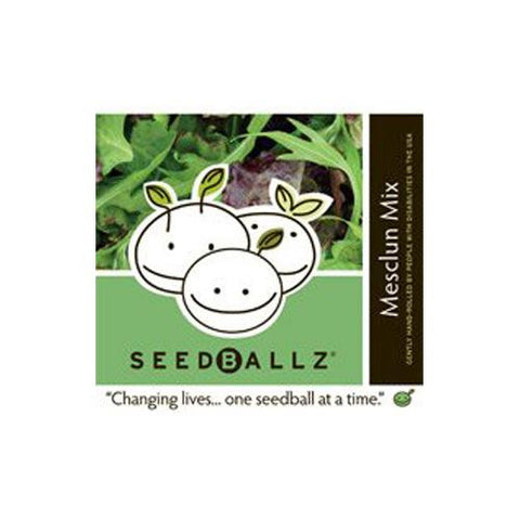 Seedballz Mesclun Salad (1x 4 Oz)