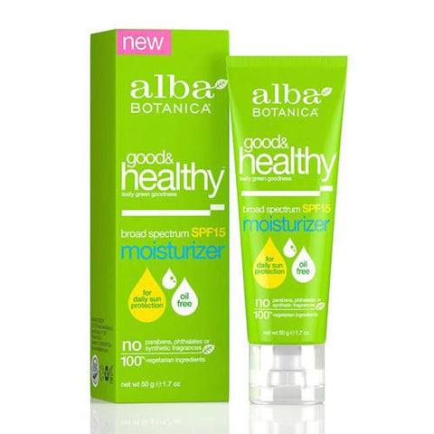 Alba Botanica Good And Healthy Broad Spectrum Spf 15 Moisturizer (1x1.7 Oz)