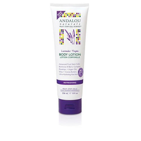 Andalou Naturals Body Lotion Lavender Thyme Refreshing (8 Fl Oz)