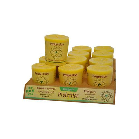 Aloha Bay Chakra Votive Candle Protection (12x2 Oz)