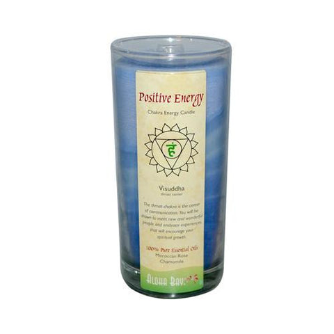 Aloha Bay Chakra Candle Jar Positive Energy (1x11 Oz)
