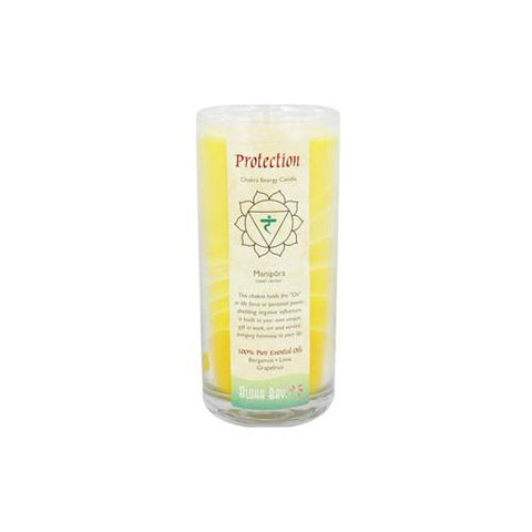Aloha Bay Chakra Candle Jar Protection (1x11 Oz)