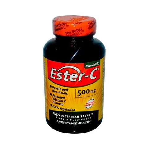 American Health Ester-c 500 Mg (1x225 Veg Tablets)