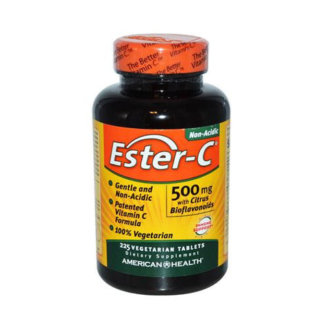 American Health Ester-c With Citrus Bioflavonoids 500 Mg (1x225 Veg Tablets)