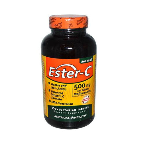 American Health Ester-c With Citrus Bioflavonoids 500 Mg (1x450 Veg Tablets)
