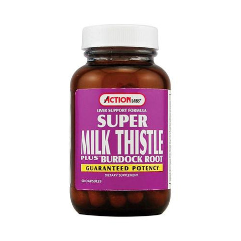Action Labs Super Milk Thistle (1x50 Capsules)