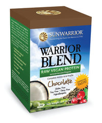 Warrior Blend Chocolate Raw Plant-Based Proteins