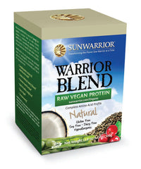 Warrior Blend Natural Raw Plant-Based Proteins