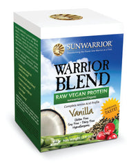 Warrior Blend Vanilla Raw Plant-Based Proteins