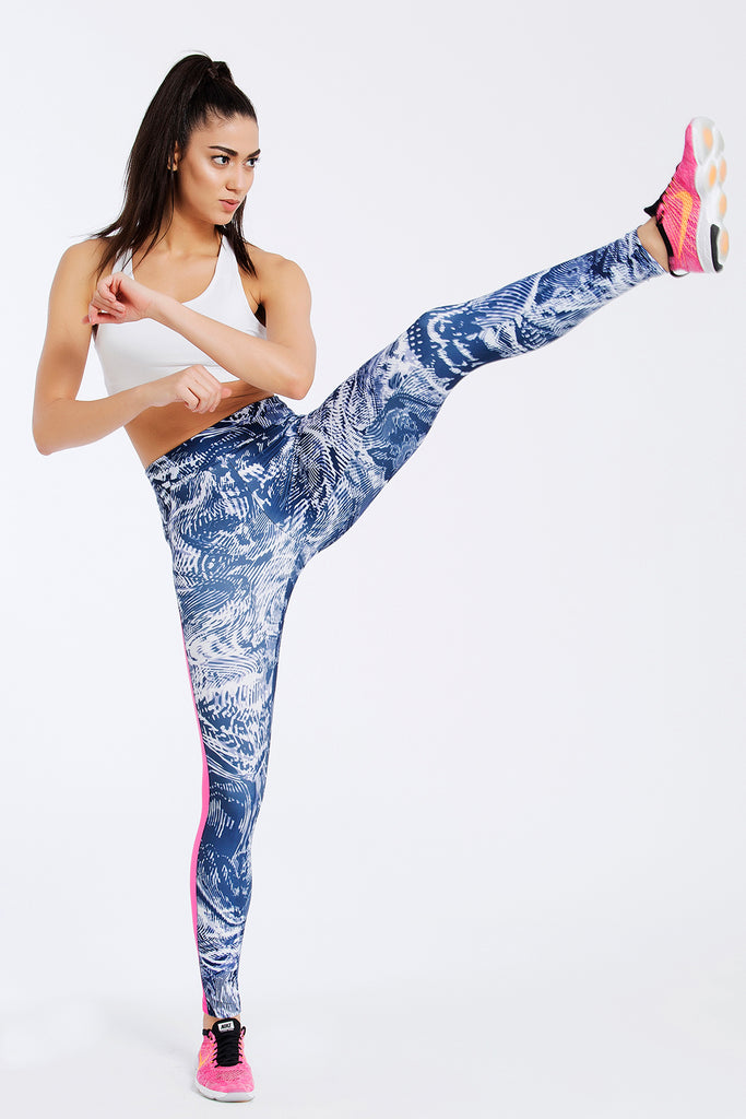 Pacific Full Length Leggings Full Length Leggings - Jeggie Activewear