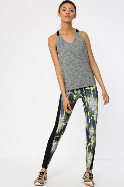 Flash Denim Full Length Leggings Full Length Leggings - Jeggie Activewear